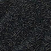 Miyuki Delica Beads 1,6mm DB0613 silverlined dark Grey 5gr