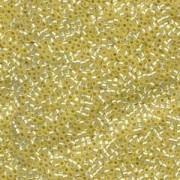 Miyuki Delica Beads 1,6mm DB0623 silverlined Alabaster light Yellow 5gr