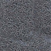 Miyuki Delica Beads 1,6mm DB0652 dyed opaque Grey 5gr