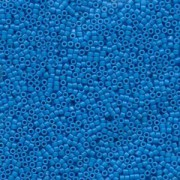 Miyuki Delica Beads 1,6mm DB0659 dyed opaque Capri Blue 5gr