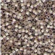 Miyuki Delica Beads 1,6mm  DB0680 Silverlined Rainbow Leopard Skin Satin 5gr