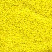 Miyuki Delica Beads 1,6mm DB0751 Opaque matt Yellow 5gr