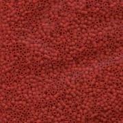 Miyuki Delica Beads 1,6mm DB0753 opaque matte Dark Red 5gr