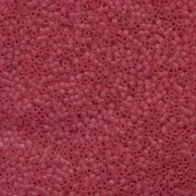 Miyuki Delica Beads 1,6mm DB0778 Transparent Dyed matt Cranberry 5gr