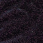 Miyuki Delica Beads 1,6mm DB0784 Transparent Dyed matt  dark Purple 5gr