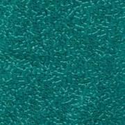 Miyuki Delica Beads 1,6mm DB0786 Transparent Dyed matt Turquoise 5gr