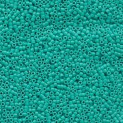 Miyuki Delica Beads 1,6mm DB0793 Opaque Dyed matt Turquoise 5gr