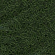 Miyuki Delica Beads 1,6mm DB0797 Opaque Dyed matt Olive 5gr