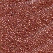 Miyuki Delica Beads 1,6mm DB0913 Sparkling Salmon lined Topaz 5gr