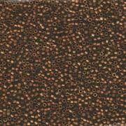 Miyuki Delica Beads 1,6mm DB1051 matt Metallic rainbow metallic Bronze-Gold 5gr