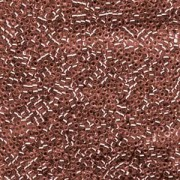 Miyuki Delica Beads 1,6mm DB1202 Silverlined Cranberry 5gr