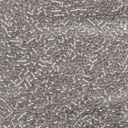 Miyuki Delica Beads 1,6mm DB1211 Silverlined mist Grey 5gr