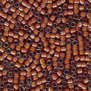 Miyuki Delica Beads 1,6mm DB1779 White Lined dark Topaz AB 5gr