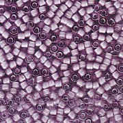 Miyuki Delica Beads 1,6mm DB1789 White Lined Amethyst AB 5gr