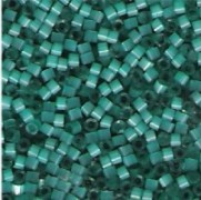 Miyuki Delica Beads 1,6mm  DB1813 Dark Waterfall Aqua Satin 5gr