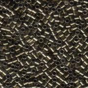 Miyuki Delica Beads 3mm DBL0022 metallic Bronze ca 6,8 Gr.