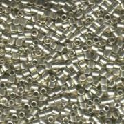 Miyuki Delica Beads 3mm DBL0035 galvanized Silver ca 6,8 Gr.