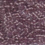 Miyuki Delica Beads 3mm DBL0108 transparent luster Amethyst ca 6,8 Gr.