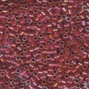 Miyuki Delica Beads 3mm DBL0162 opaque rainbow Red ca 6,8 Gr.