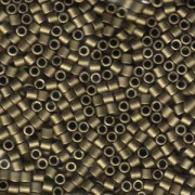 Miyuki Delica Beads 3mm DBL0322 metallic matte Bronze ca 6,8 Gr.