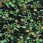 Miyuki Delica Beads 2,2mm Mix03 Evergreen 7,2 Gr.