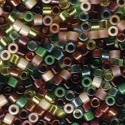 Miyuki Delica Beads 2,2mm Mix07 Earthtone 7,2 Gr.