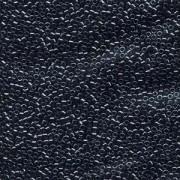 Miyuki Delica Beads 2,2mm DBM0001 metallic Hematite 7,2 Gr.