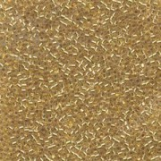 Miyuki Delica Beads 2,2mm DBM0033 colorlined 24 Karat Gold lined 7,2 Gr.