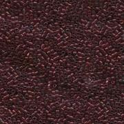 Miyuki Delica Beads 2,2mm DBM0105 transparent Raspberry Gold 7,2 Gr.