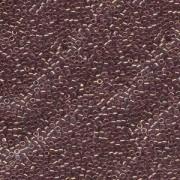 Miyuki Delica Beads 2,2mm DBM0108 transparent luster Amethyst 7,2 Gr.