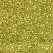 Miyuki Delica Beads 2,2mm DBM0145 transparent silverlined Yellow 7,2 Gr.