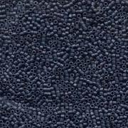 Miyuki Delica Beads 2,2mm DBM0301 metallic matte Blue Grey 7,2 Gr.