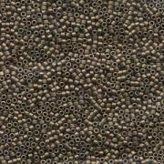 Miyuki Delica Beads 2,2mm DBM0322 metallic matte Bronze 7,2 Gr.