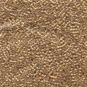 Miyuki Delica Beads 2,2mm DBM0410 galvanized Gold 7,2 Gr.