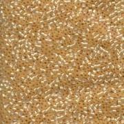 Miyuki Delica Beads 2,2mm DBM0621 silverlined alabaster Beige 7,2 Gr.