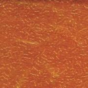 Miyuki Delica Beads 2,2mm DBM0703 transparent Orange 7,2 Gr.