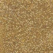 Miyuki Delica Beads 1,3mm DBS0033 colorlined 24 Karat Goldlined 5gr