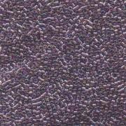 Miyuki Delica Beads 1,3mm DBS1244 transparent rainbow Mauve 5gr