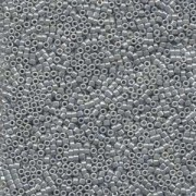 Miyuki Delica Beads 1,3mm DBS0252 opaque luster Ash Grey 5gr