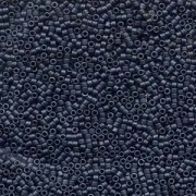 Miyuki Delica Beads 1,3mm DBS0301 metallic matte Blue Grey 5gr