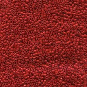 Miyuki Delica Beads 1,3mm DBS0723 opaque Red 5gr