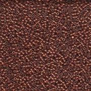 Miyuki Delica Beads 1,6mm DB1842 Duracoat galvanized Dark Berry ca 7,2 Gr.