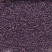 Miyuki Delica Beads 1,6mm DB1850 Duracoat galvanized Eggplant ca 7,2 Gr.