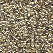 Miyuki Delica Beads 3mm DBL1831 Duracoat galvanized Silver ca 6,8 Gr.