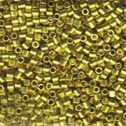 Miyuki Delica Beads 3mm DBL1835 Duracoat galvanized Zest ca 6,8 Gr.
