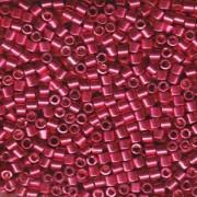 Miyuki Delica Beads 3mm DBL1841 Duracoat galvanized Blight Cranberry ca 6,8 Gr.
