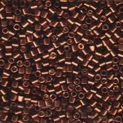 Miyuki Delica Beads 3mm DBL1843 Duracoat galvanized Dark Mauve ca 6,8 Gr.
