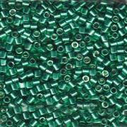 Miyuki Delica Beads 3mm DBL1844 Duracoat galvanized Dark Mint Green ca 6,8 Gr.