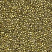 Miyuki Delica Beads 2,2mm DBM1835 Duracoat galvanized Zest ca 7,2 Gr.