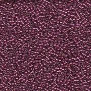 Miyuki Delica Beads 2,2mm DBM1849 Duracoat galvanized Magenta ca 7,2 Gr.